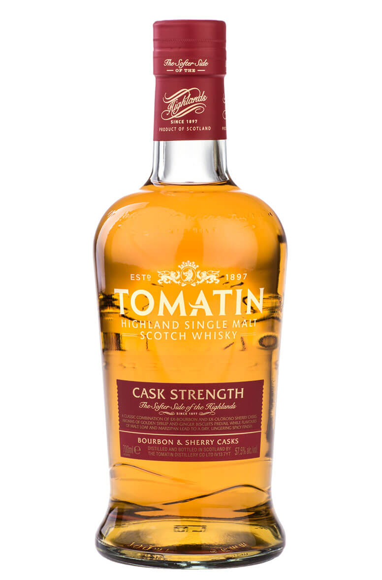 Tomatin Cask Strength 57.5%