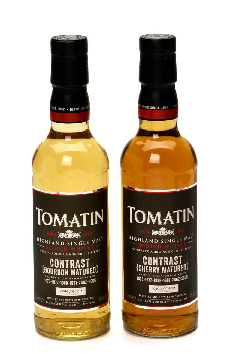 Tomatin Contrast Sherry and Bourbon Casks
