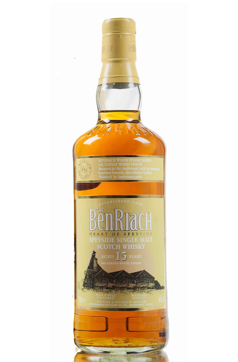 Benriach 15 Year Old Sauternes Finish