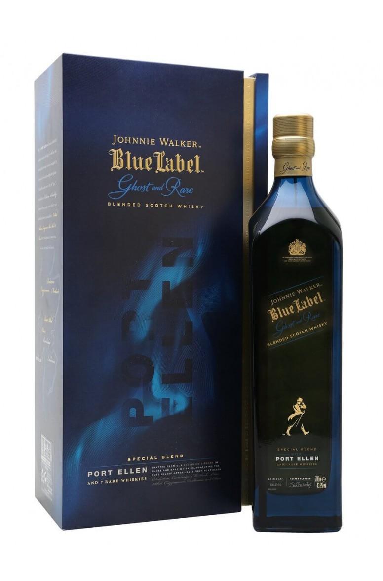 Johnnie Walker Blue Label Ghost Rare Port Ellen