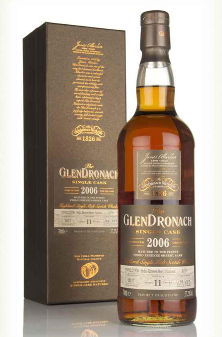 Glendronach 2006 11 Year Old Single Cask 1979 Batch 16