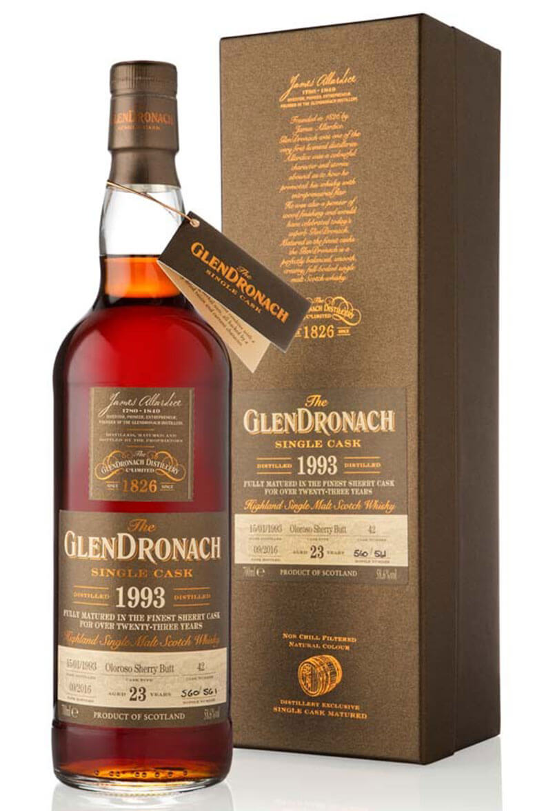 Glendronach 1993 23 Year Old #42 Batch 14