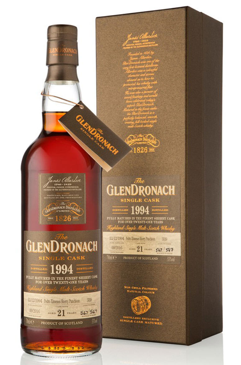 Glendronach 1994 21 Year Old #339 Batch 14