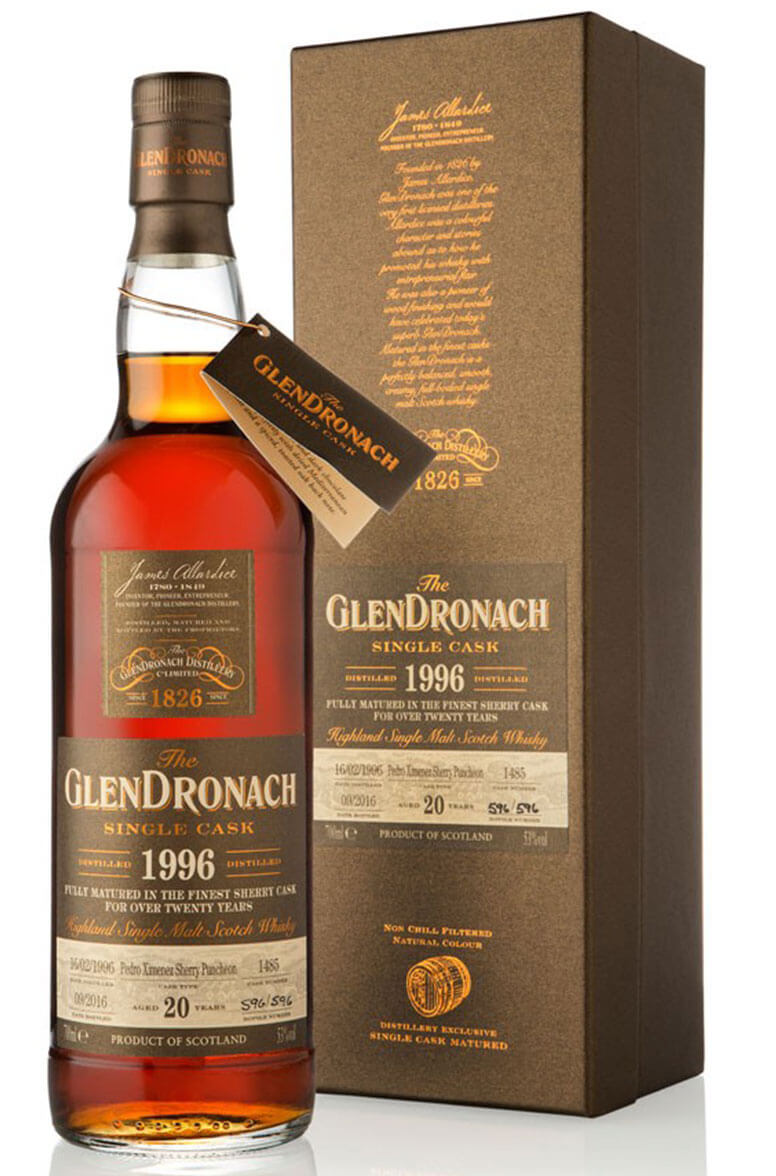 Glendronach 1996 20 Year Old #1485 Batch 14