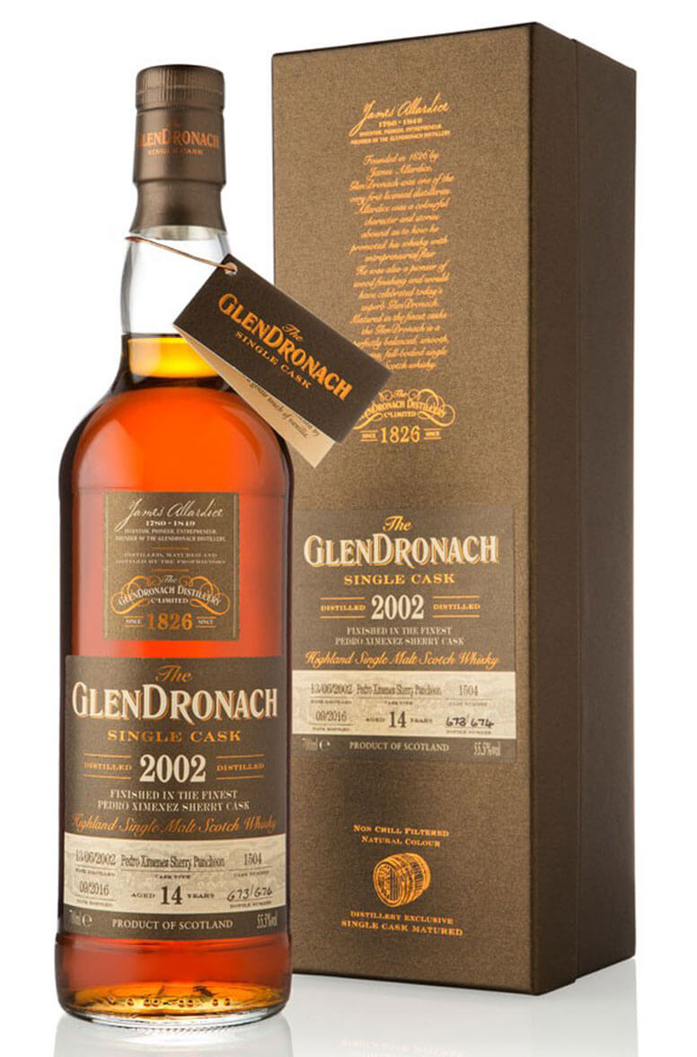 Glendronach 2002 14 Year Old #1504 Batch 14