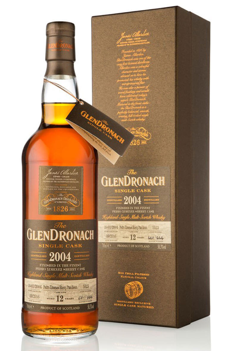 Glendronach 2004 12 Year Old #5523 Batch 14
