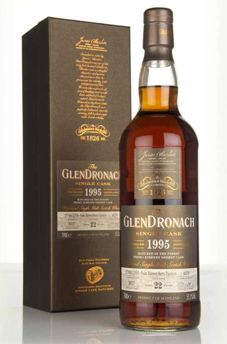 Glendronach 1995 22 Year Old Single Cask 4038 Batch 16