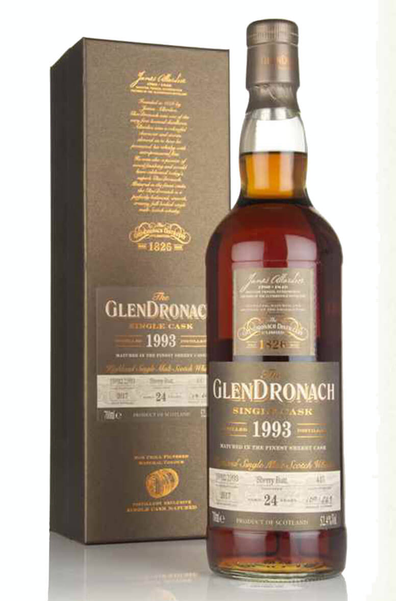 Glendronach 1993 24 Year Old Single Cask 445 Batch 16