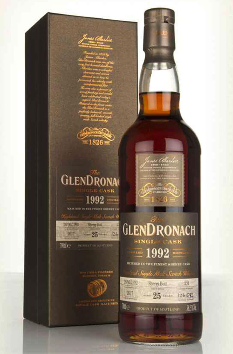 Glendronach 1992 25 Year Old Single Cask 334 Batch 16