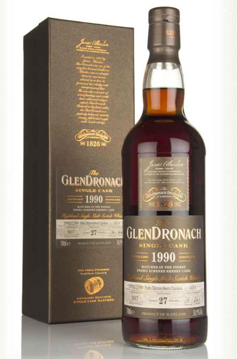 Glendronach 1990 27 Year Old Single Cask 1014 Batch 16