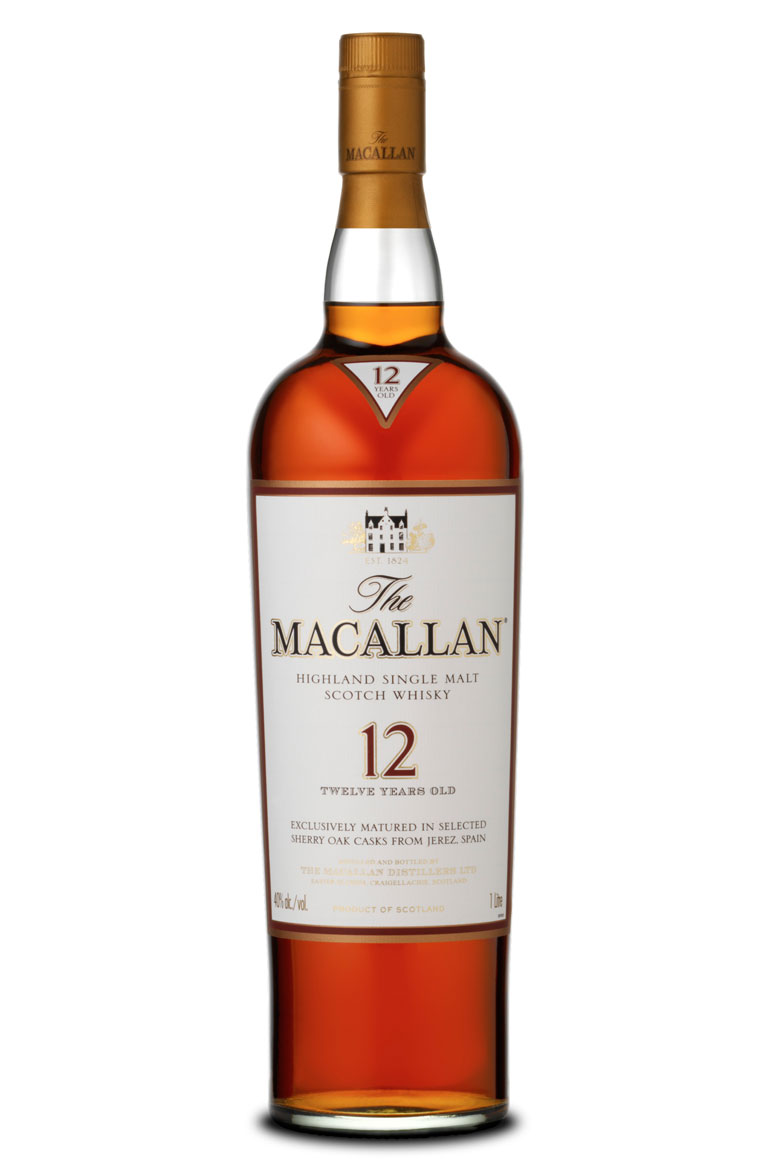 Macallan 12 Year Old Sherry Oak Matured