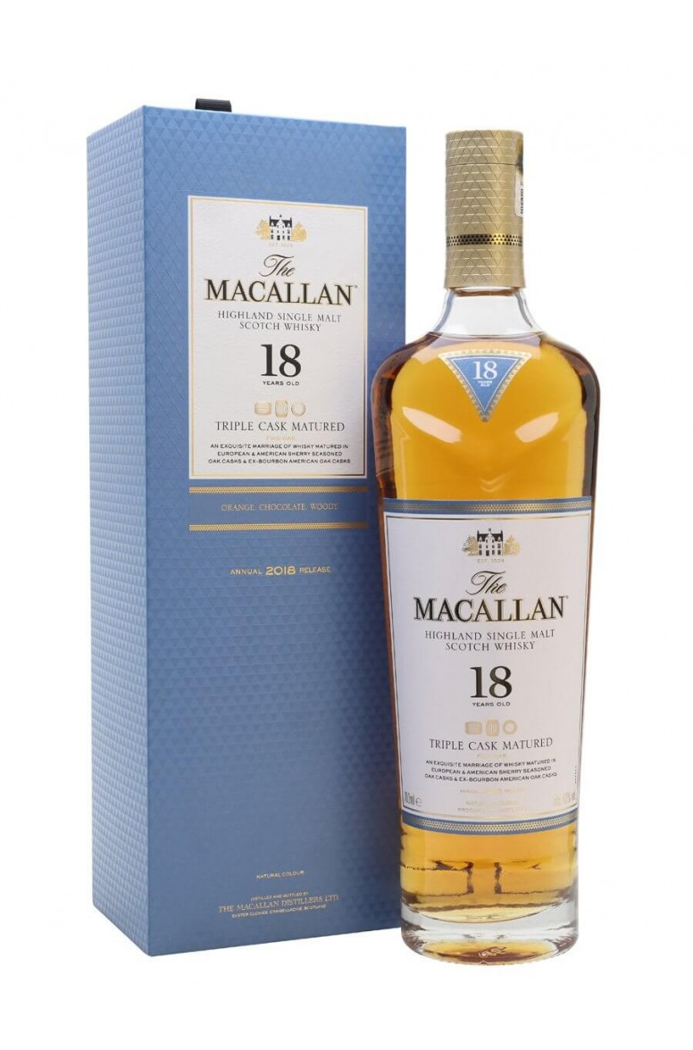 Macallan 18 Year Old Triple Cask Matured