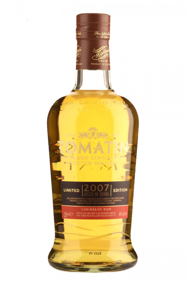 Tomatin 9 Year Old Caribbean Rum Cask