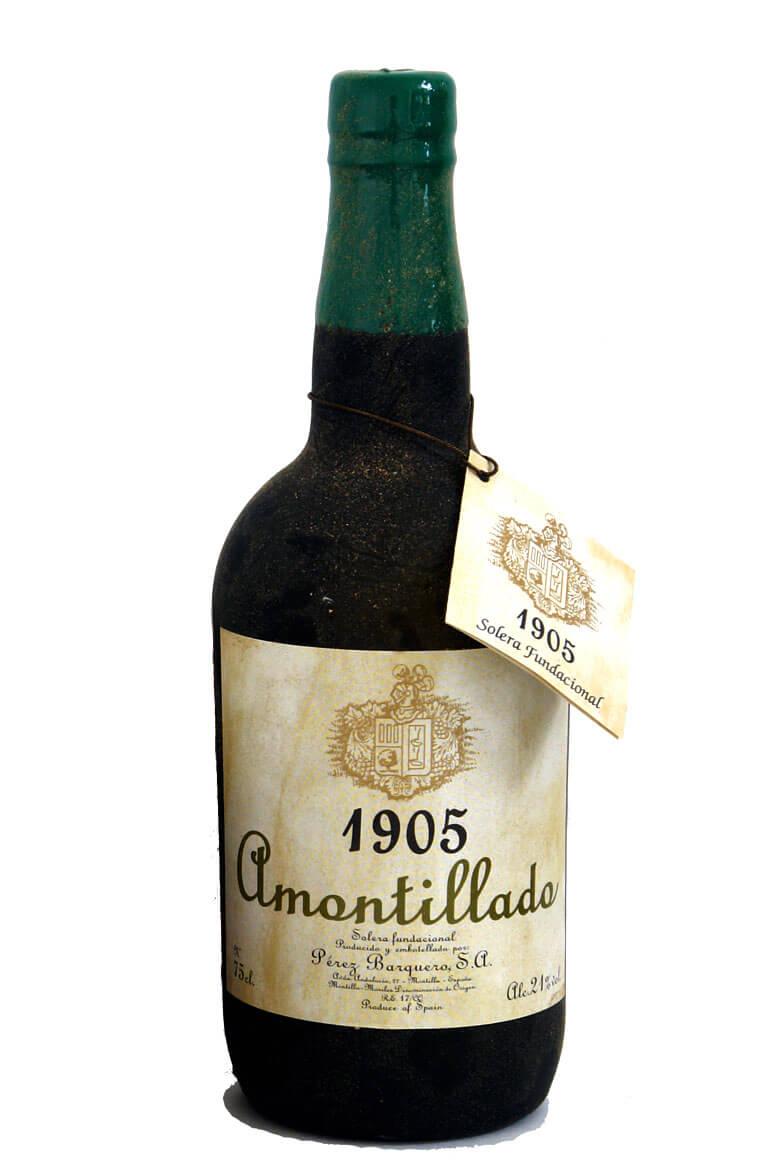 1905 Amontillado Solera Fundacional