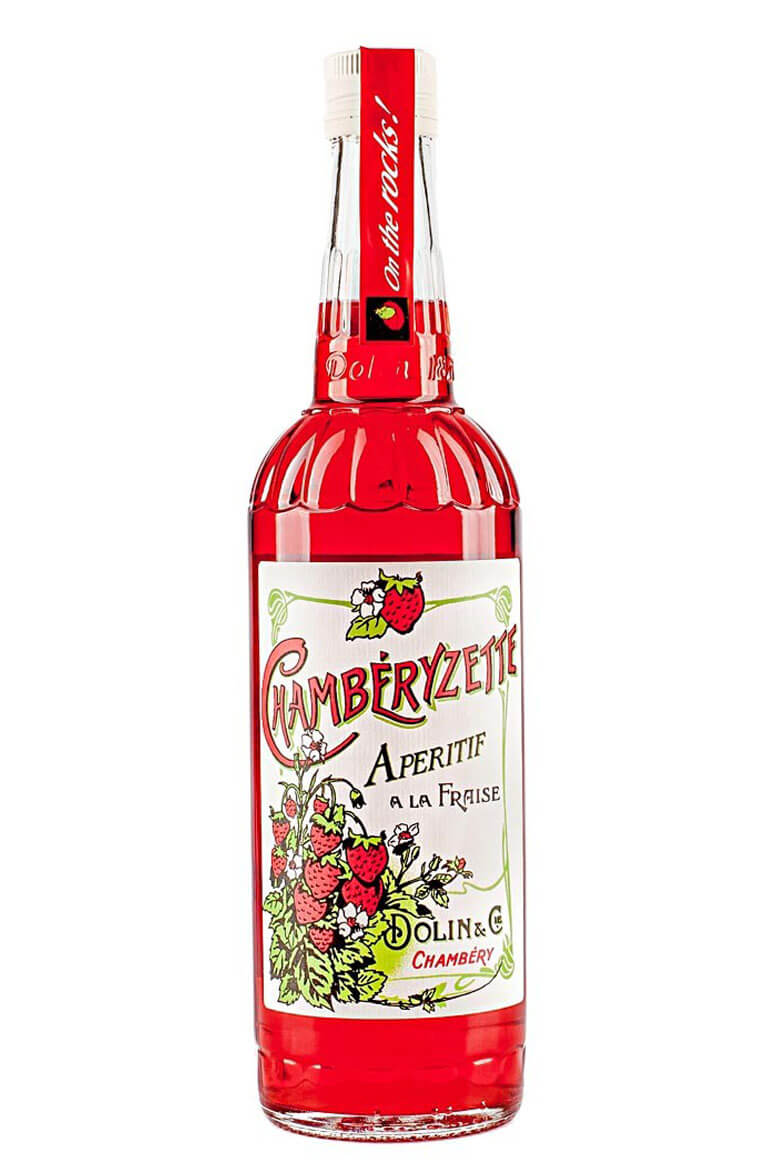 Chamberyzette Strawberry Aperitif