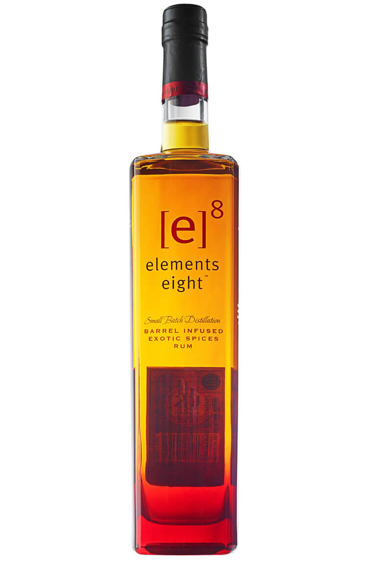 Elements 8 Barrel Infused Spiced Rum