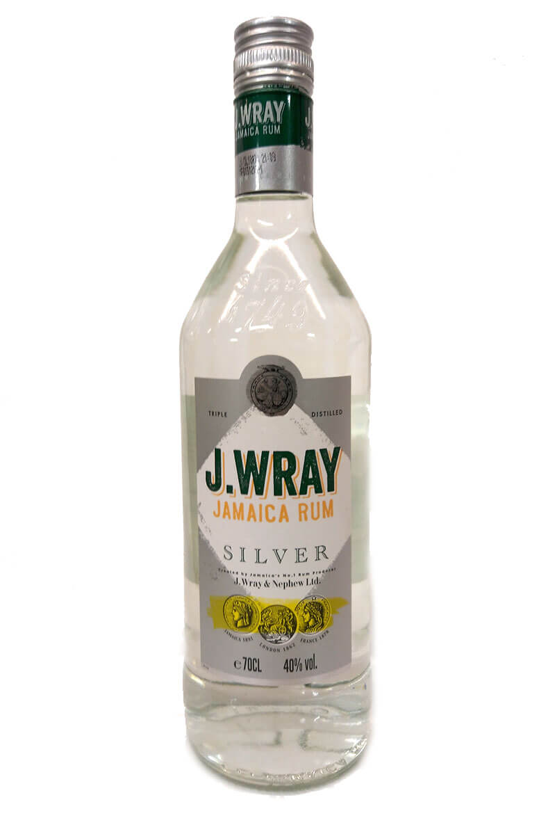 J Wray Silver Jamaican Rum