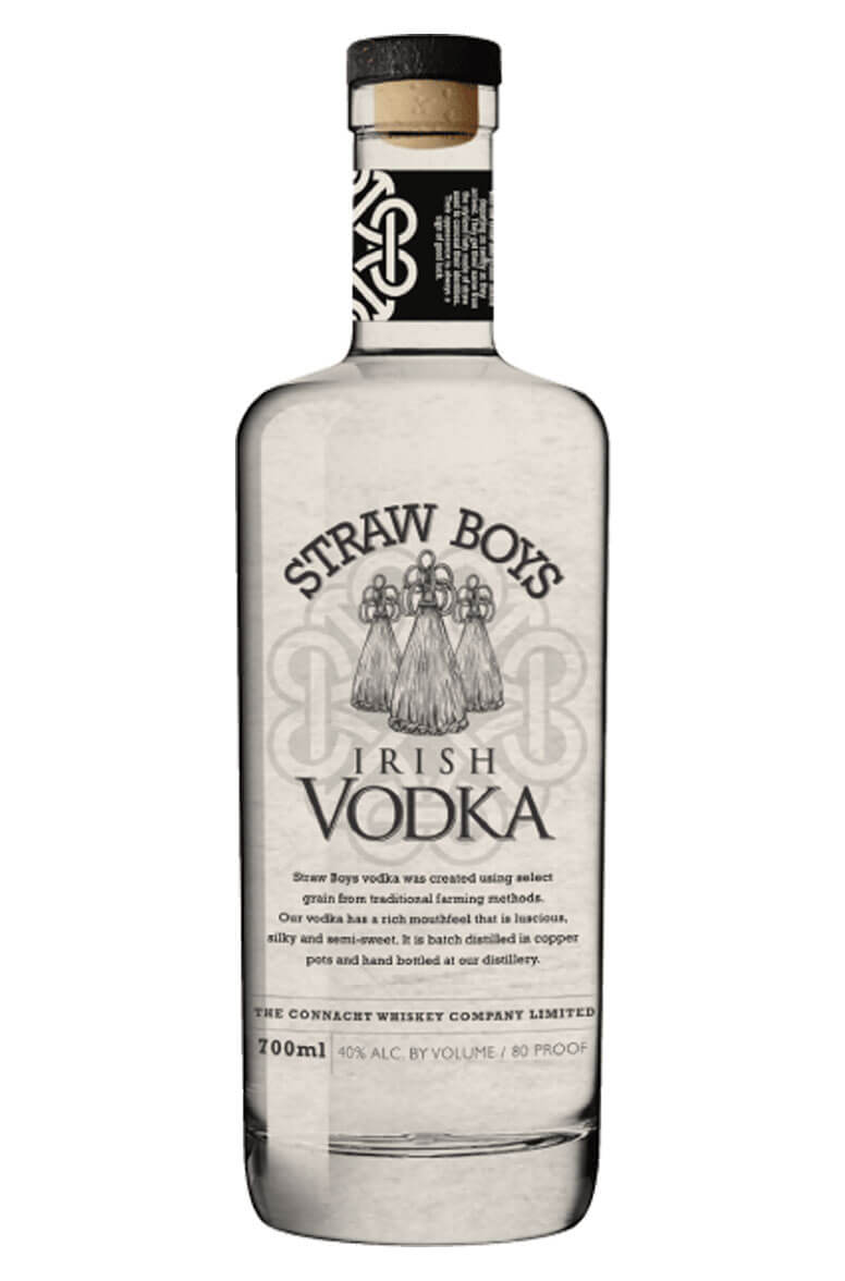 Straw Boys Irish Vodka