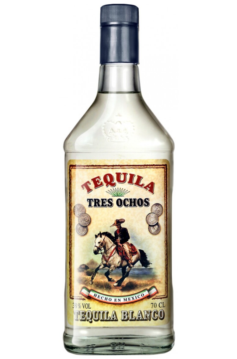 Tres Ochos Blanc Tequila