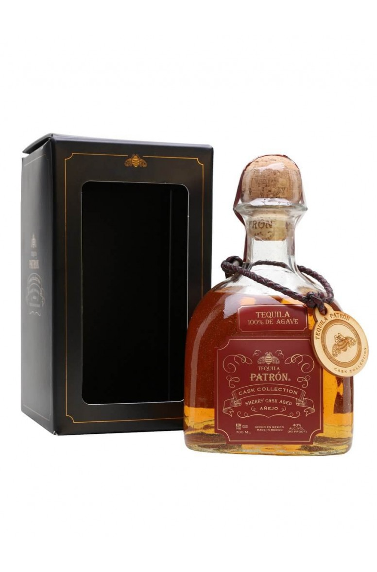 Patron Sherry Cask Aged Anejo Tequila
