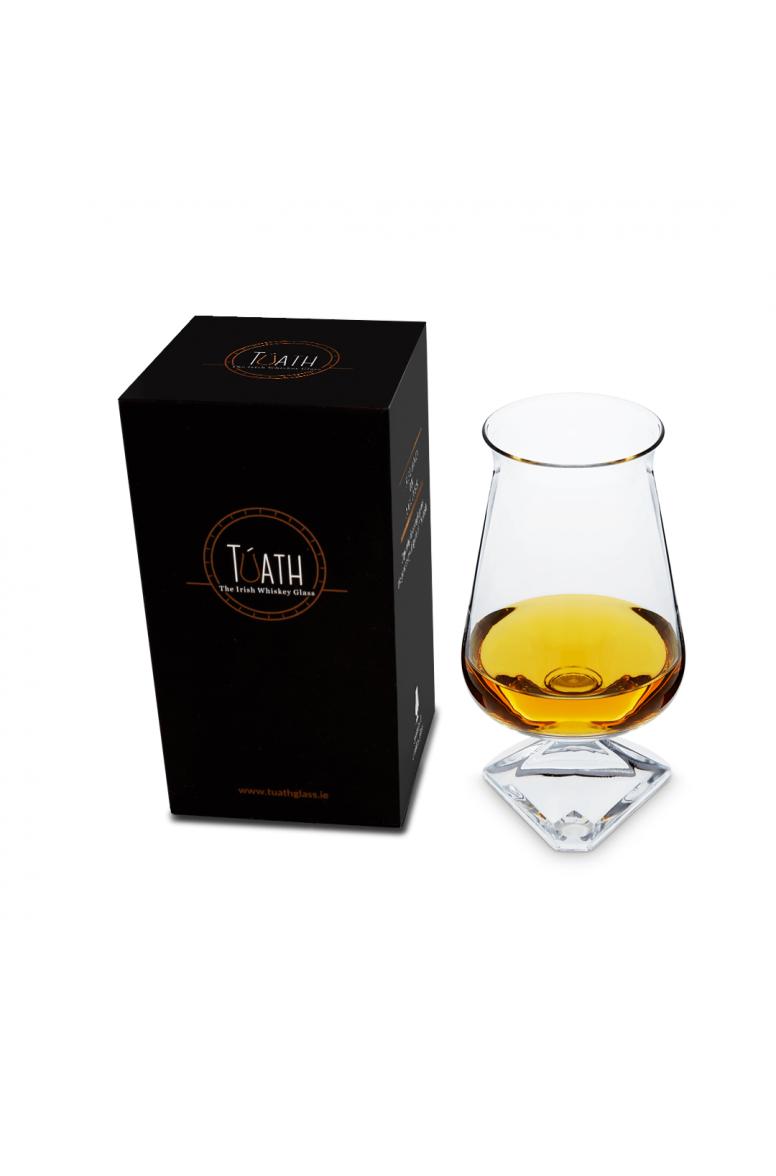 Túath Whiskey Glass Plain Boxed