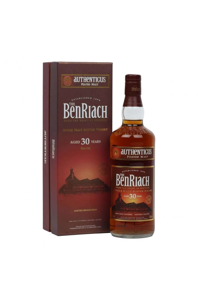 BenRiach 30 Year Old Authenticus - Peated