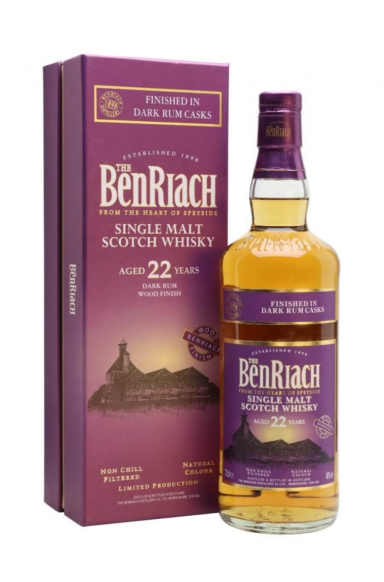 BenRiach 22 Year Old Dark Rum