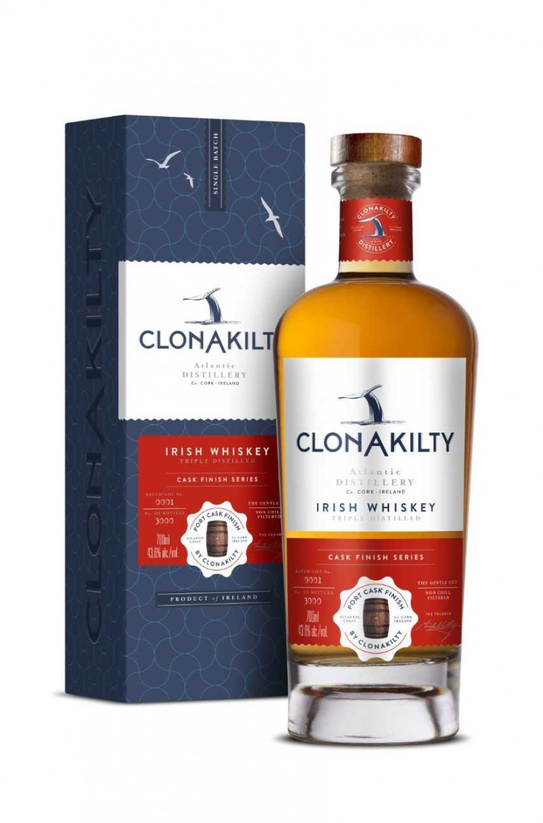 Clonakilty Port Cask Irish Whiskey