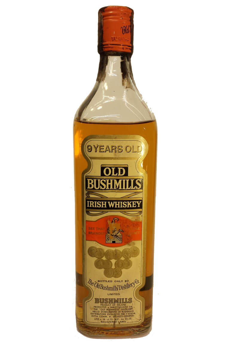 Bushmills 9 Year Old 1950s Bottling