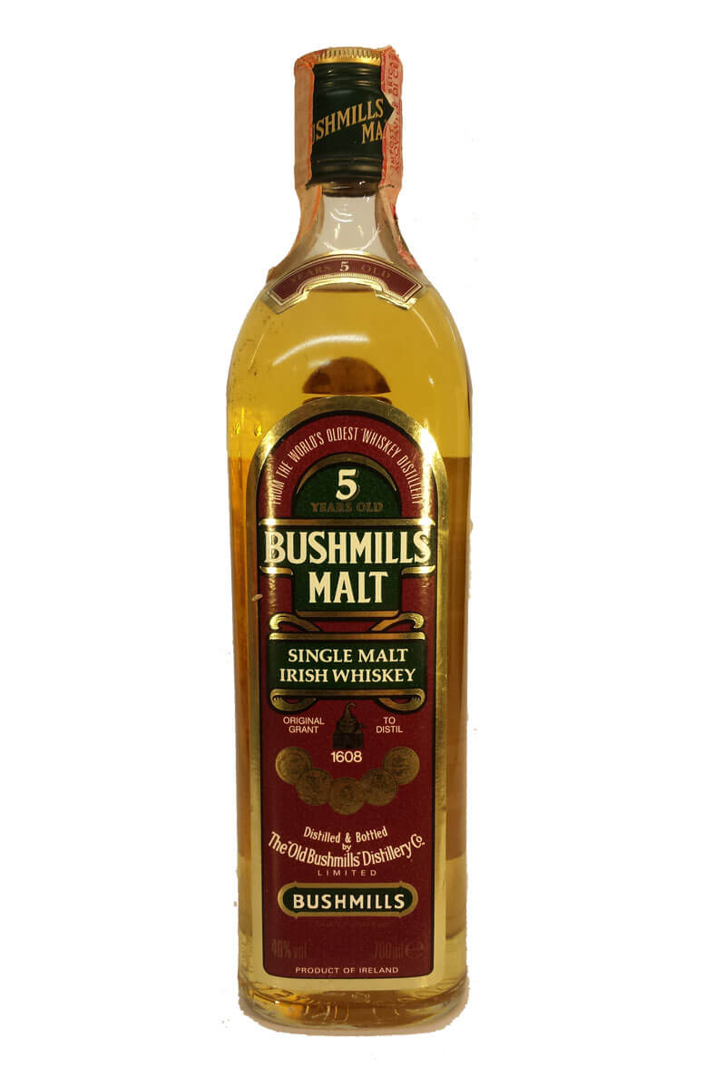 Bushmills 5 Year Old Single Malt