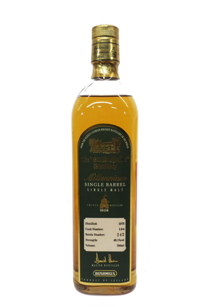 Bushmills 1975 49.1% Cask Strength