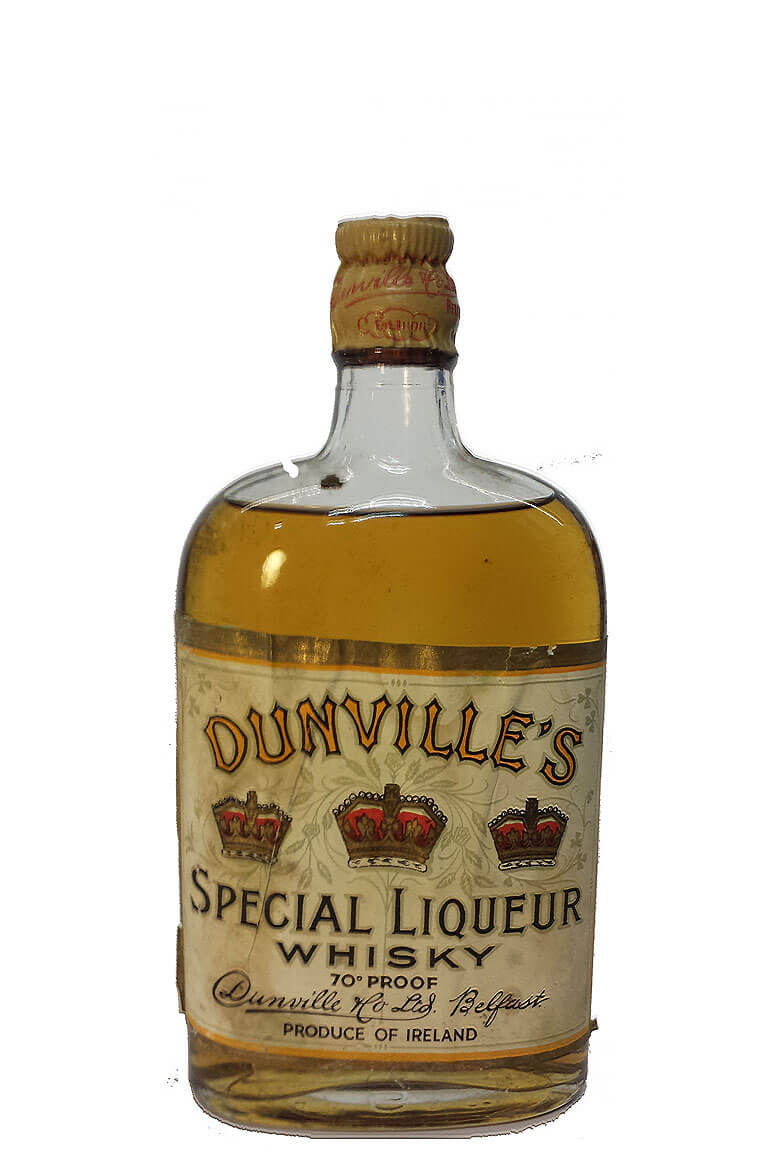 Dunvilles Special Liqueur Whisky 1/2 Bottle