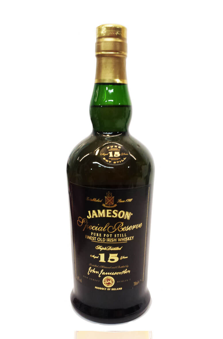Jameson 15 Year Old Special Reserve Pure Pot Still