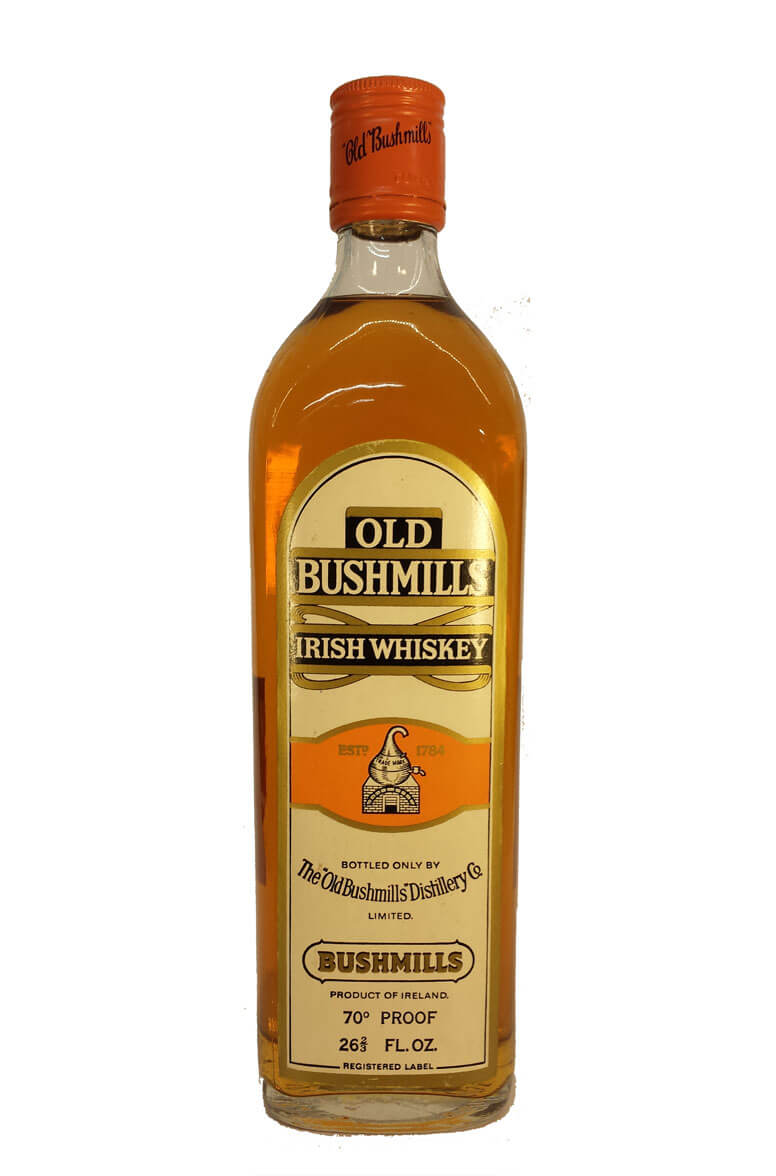 Old Bushmills Irish Whiskey 26 2/3 FL OZ