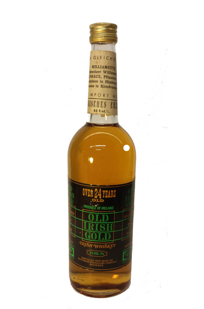Old Irish Gold 24 Year Old Whiskey