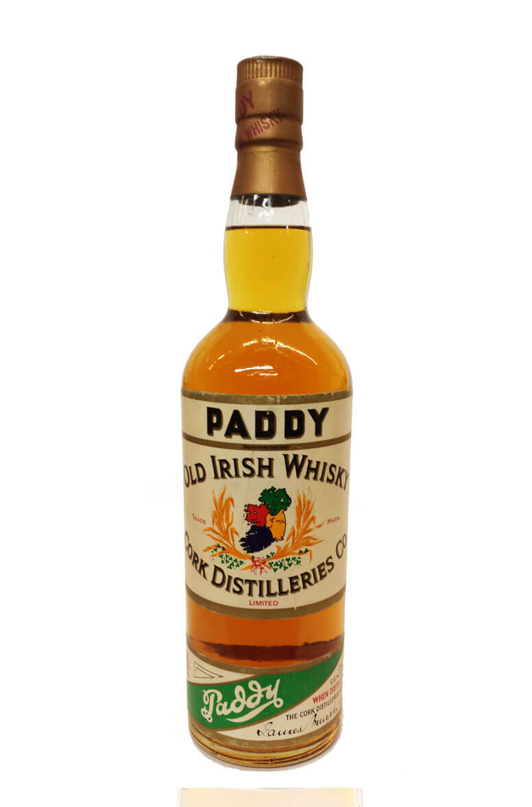 Paddy Old Irish Whisky Green Band