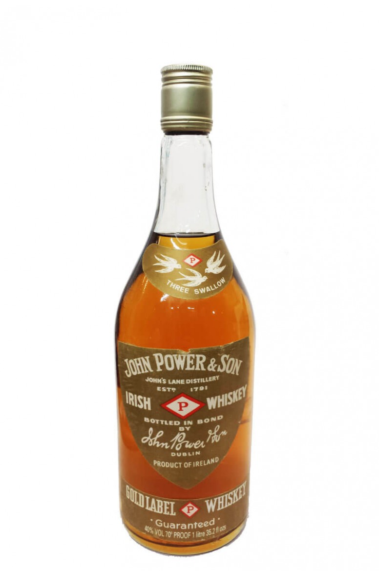 Powers Gold Label 1980s Litre
