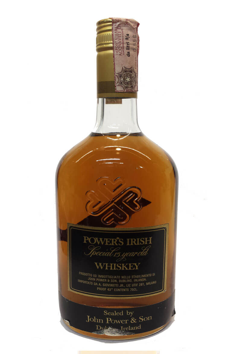 Powers Special 15 Year Old Black Label