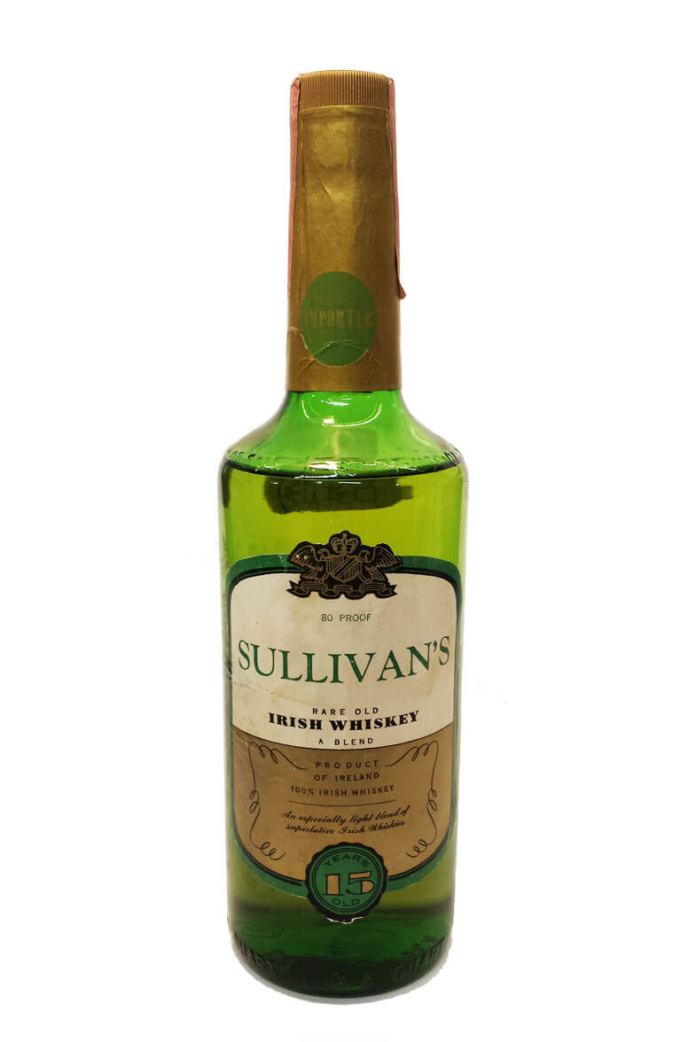 Sullivans 15 Year Old Irish Whiskey