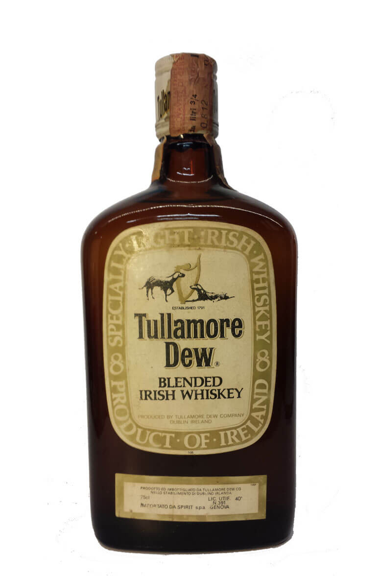 Tullamore Dew Blend Brown Bottle