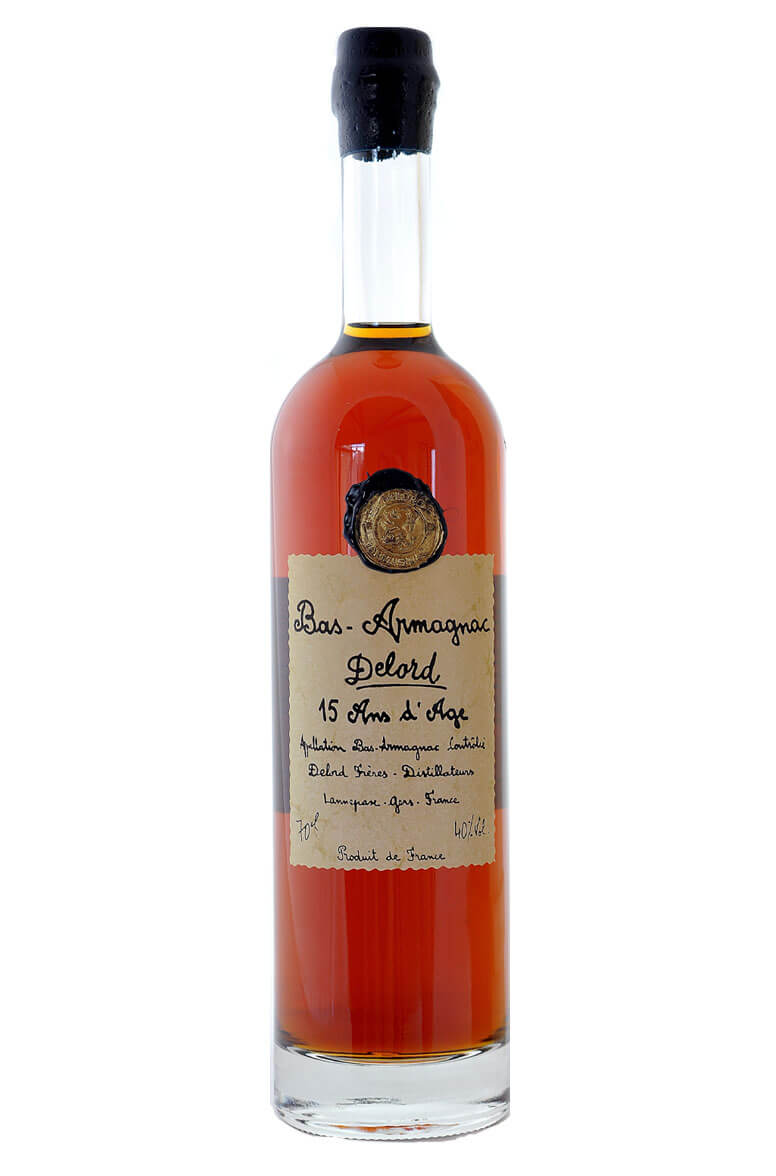Delord Bas Armagnac 15 Year-Old