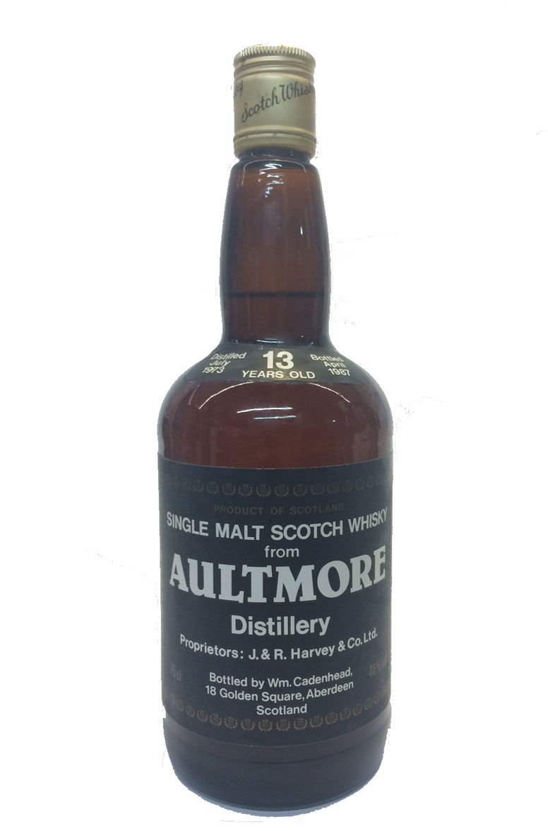 Aultmore Cadenhead Bottling 13 Year Old