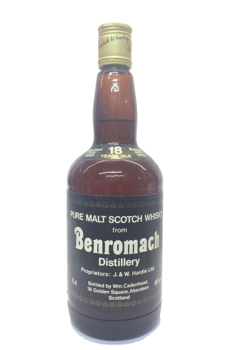 Benromach Cadenhead 18 Year Old