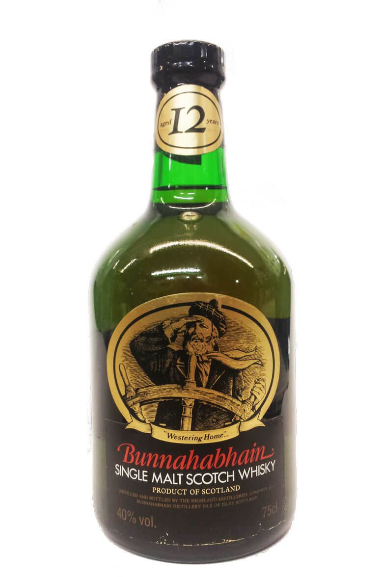 Bunnahabhain 12 Year Old 1980s Bottling