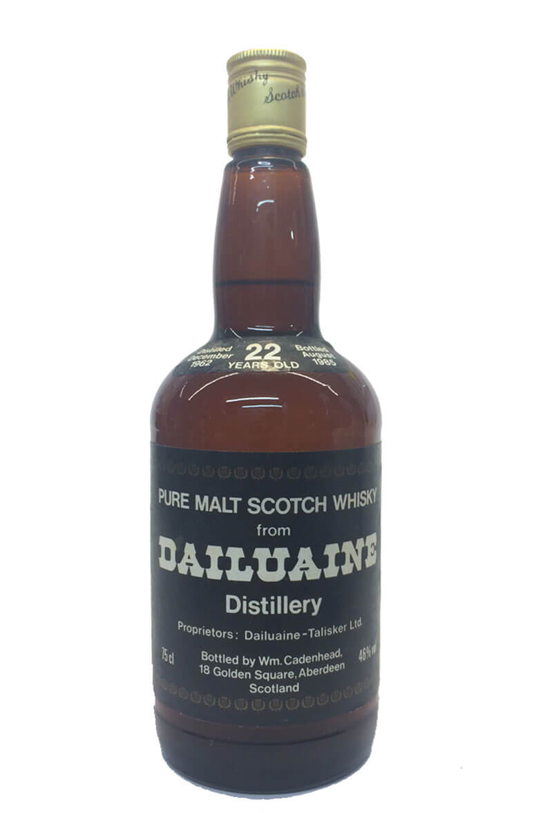 Dailuaine Cadenhead Bottling 22 Year Old