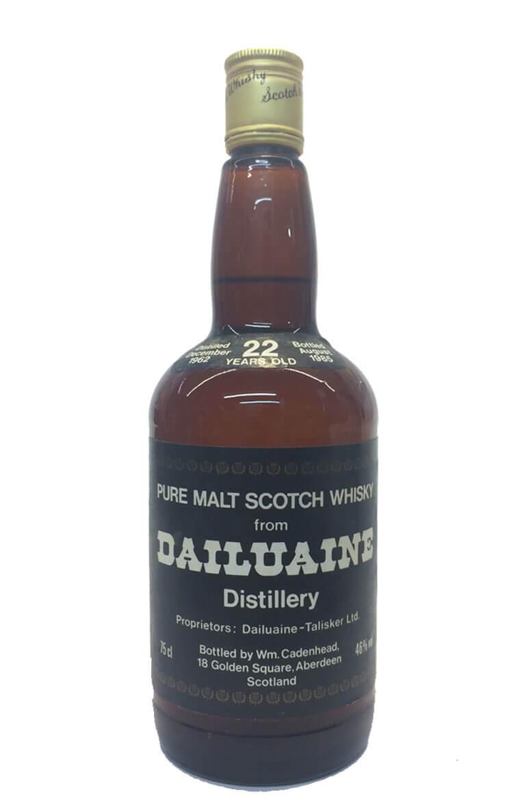 Dailuaine Cadenhead Bottling 22 Year Old