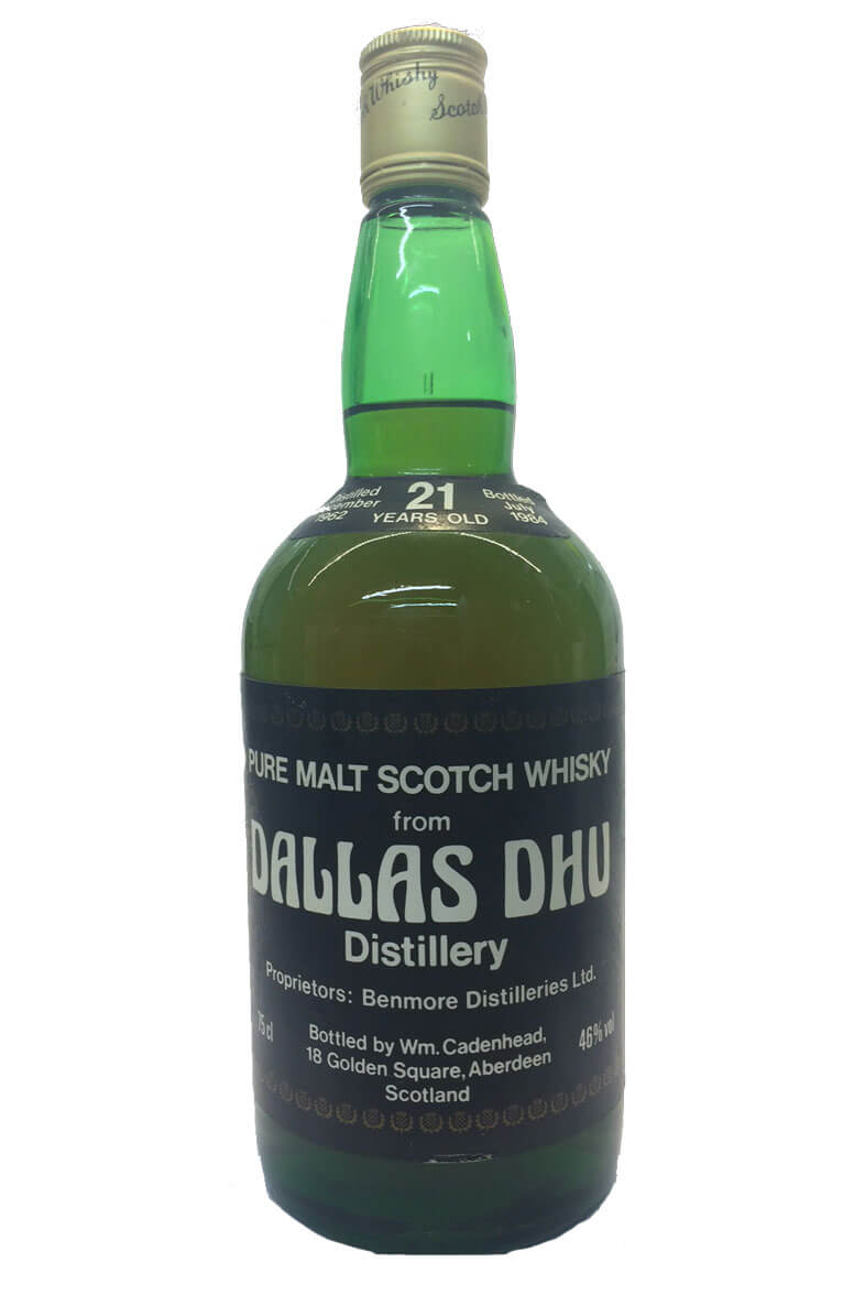 Dallas Dhu Cadenhead Botling 21 Year Old