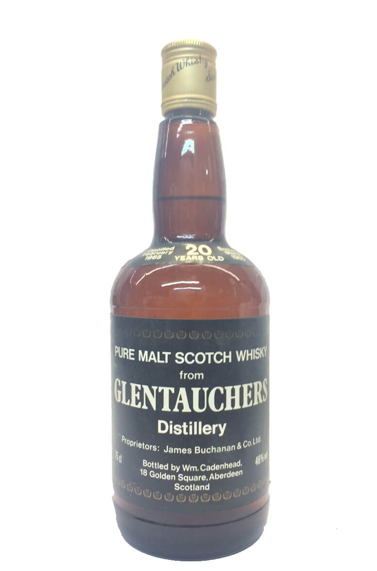 Glentauchers Cadenhead Bottling 20 Year Old