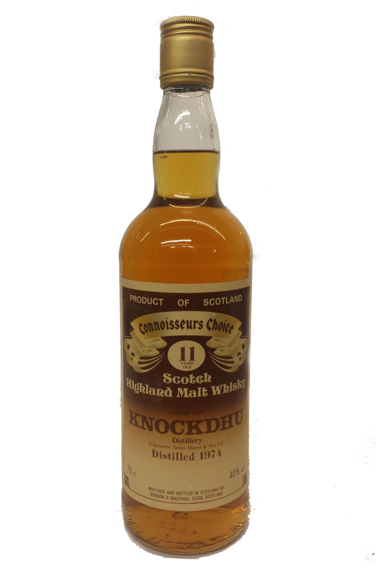 Knockdhu 11 Year Old Gordon & MacPhail 1980s