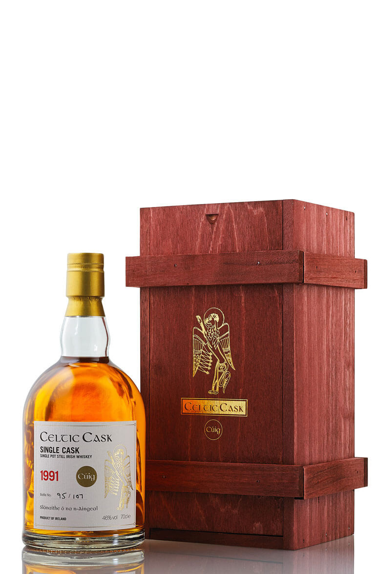 Celtic Cask Cuig 5 Single Pot Still Irish Whiskey